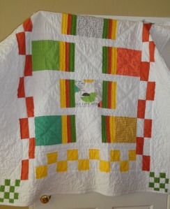 Lap Quilt from Bay City Chicks Collection