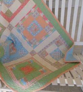 Here Birdie, Birdie Baby Quilt